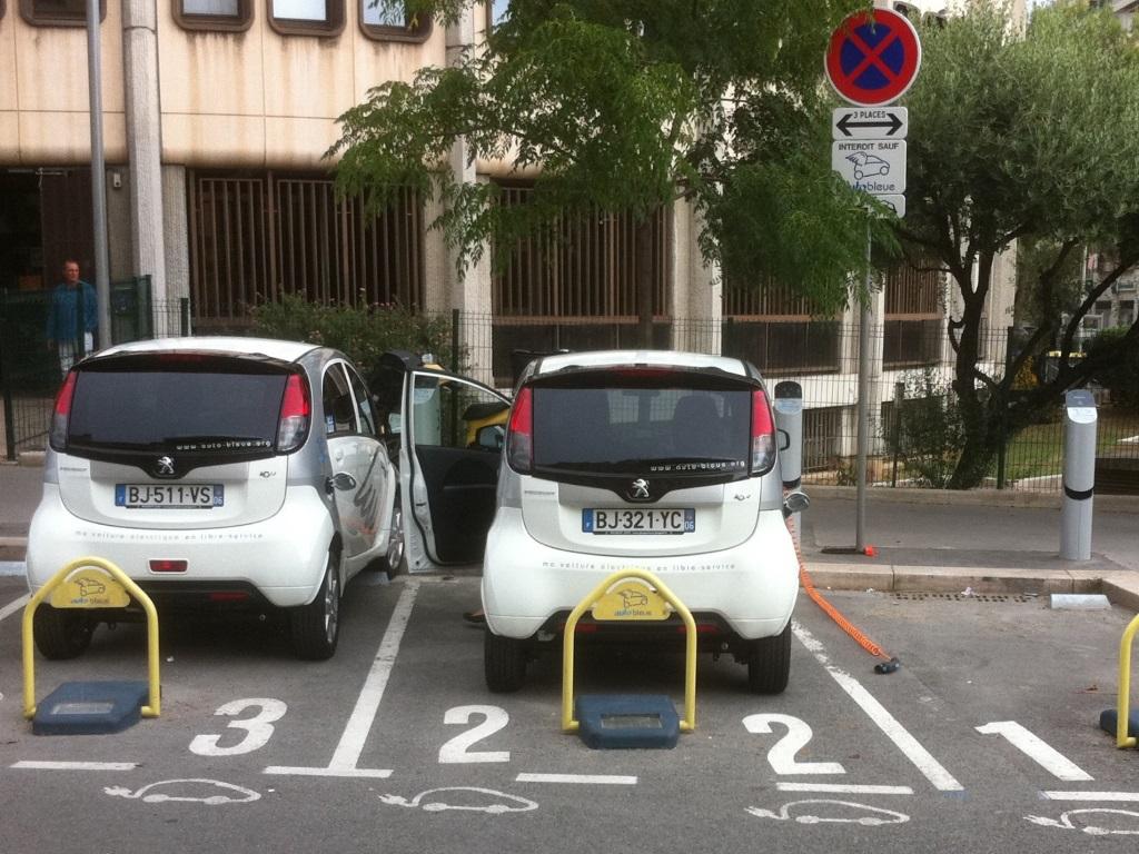 Sociétés d'autopartage